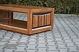 Indyjski drewniany stolik, фото 5