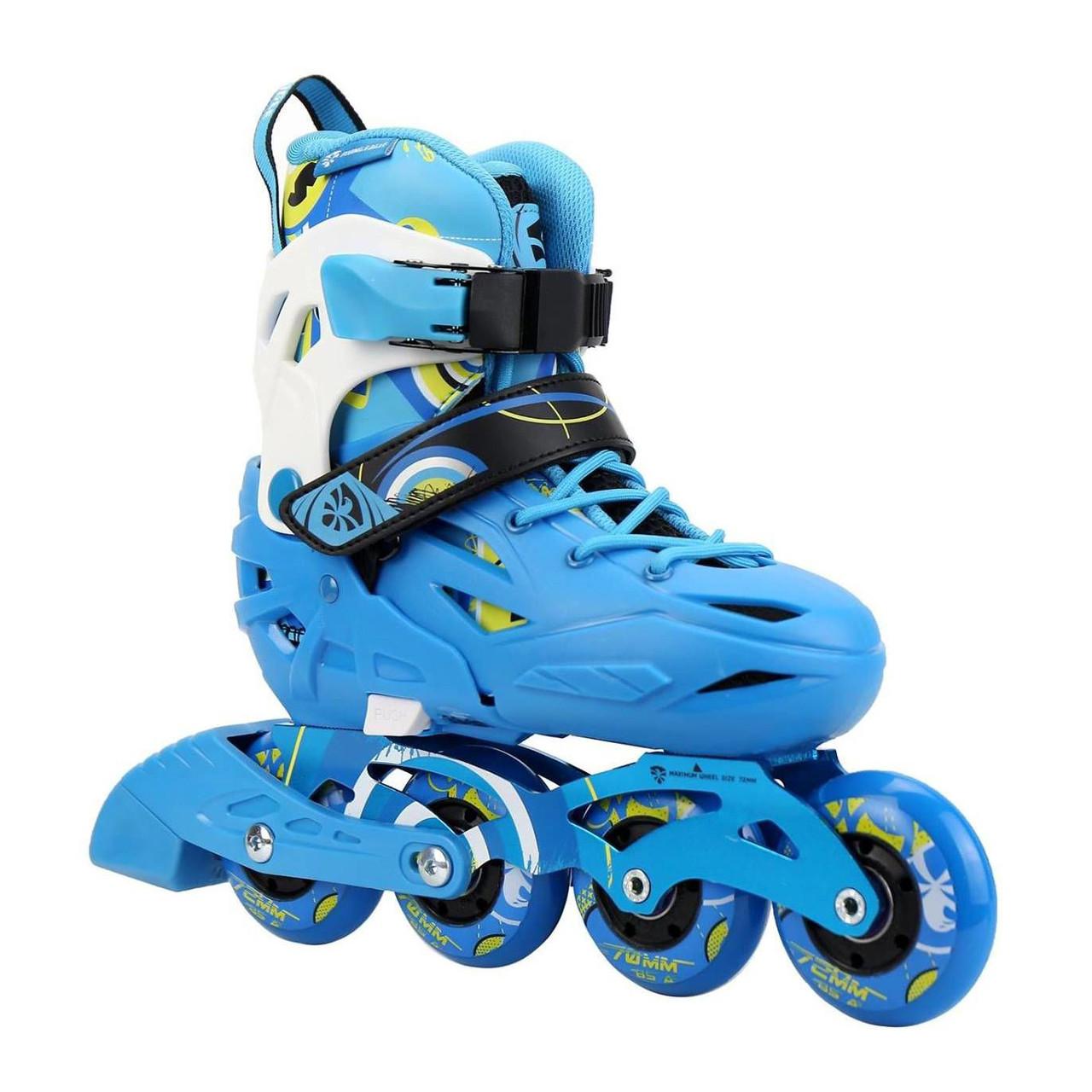 19eab374352487 Детские ролики Flying Eagle S5s Blue, цена 2 800 грн., купить в Киеве —  Prom.ua (ID#918170981)