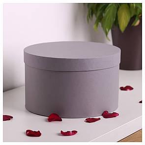 Шляпная круглая коробка d= 20 h=15 см