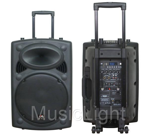 Автономная активная акустическая система HL AUDIO USK12A BT/USB