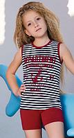BERRAK Майка+шорты для девочки 6535