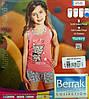 BERRAK Майка+шорты для девочки 6546