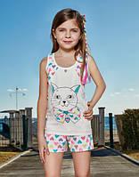 BERRAK Майка+шорты для девочки 6518