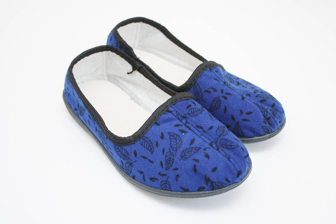 Женские тапки синие (Код: G-034-2 киев )