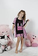 SEXEN Халат+ майка+шорты для девочки 09510