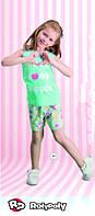 Комплект майка+шорты для девочки 1482-5