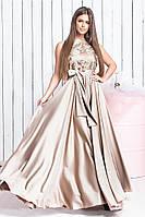 Женское нарядное платье в пол , фото 1