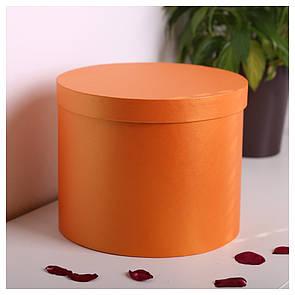 Шляпная круглая коробка d= 25 h=20 см