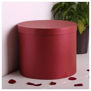 Шляпная круглая коробка d=25 h=25 см