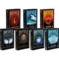 Коллекция дизайнерских карт Bicycle Natural Disasters