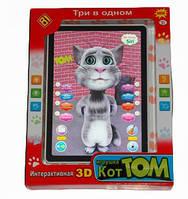 Планшет детский  Кот Том сенсорный 0622-8