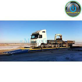 Автомобильные весы на 60 тонн – PCA 60 / 12 метров