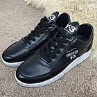 Кроссовки мужские черные Adidas Y-3 Bashyo Sneakers Black/White, реплика р 40,41, фото 2