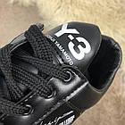Кроссовки мужские черные Adidas Y-3 Bashyo Sneakers Black/White, реплика р 40,41, фото 6