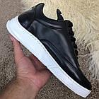 Кроссовки мужские черные Adidas Y-3 Bashyo Sneakers Black/White, реплика р 40,41, фото 7