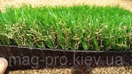 Декоративная искусственная трава AMZ 40мм., фото 2