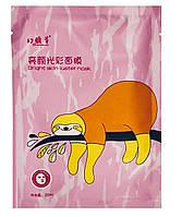Тканевая маска Bright Skin Luster mask (ленивец), фото 1