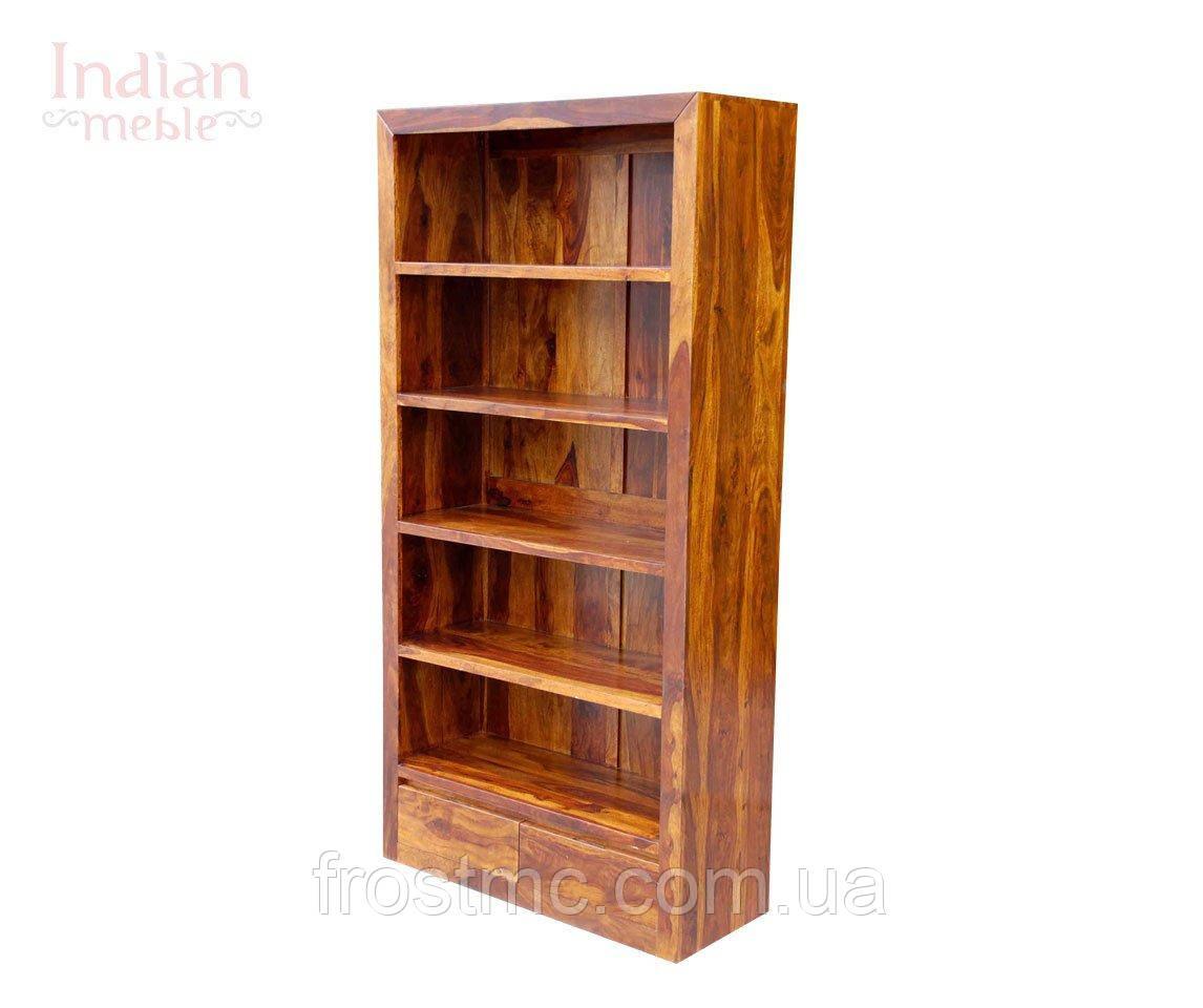 Indyjski drewniany regał - фото 1