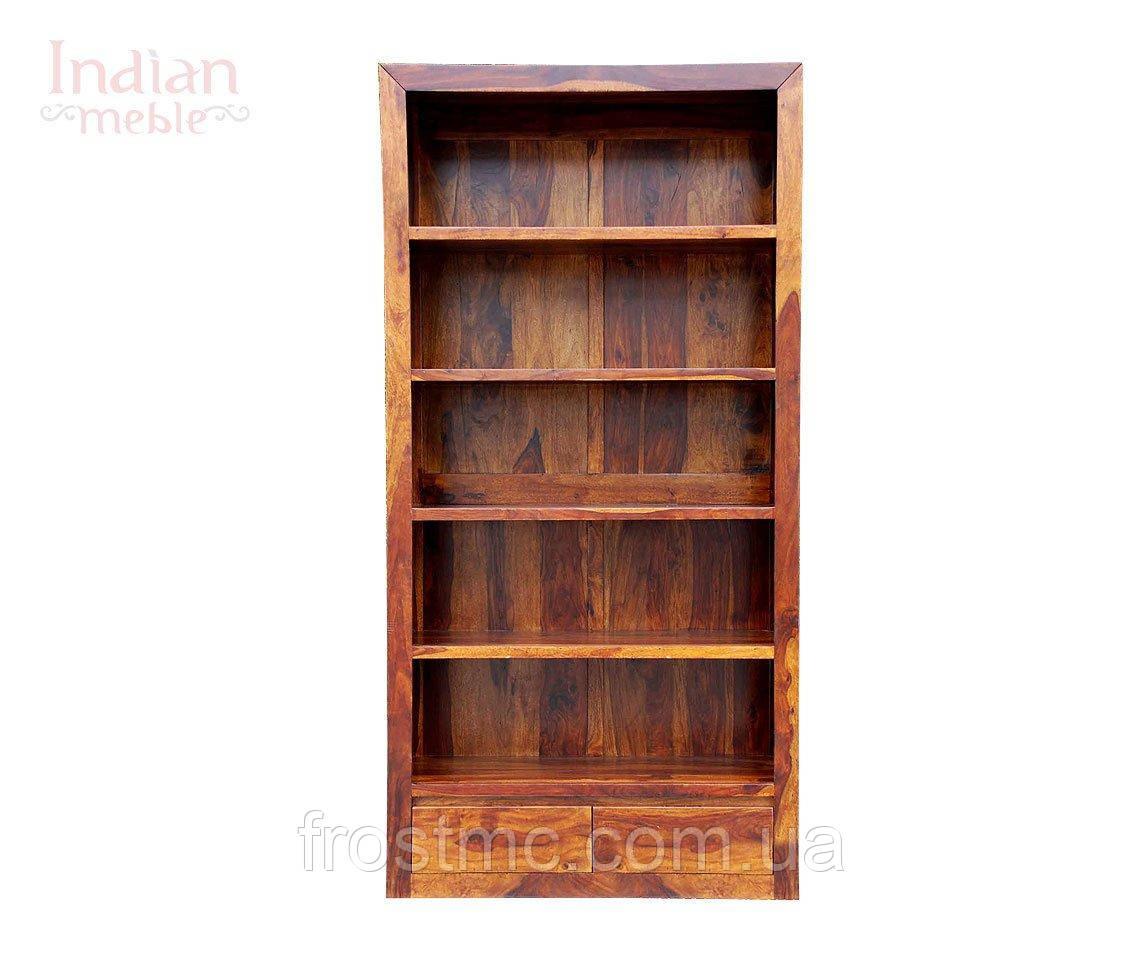 Indyjski drewniany regał - фото 2