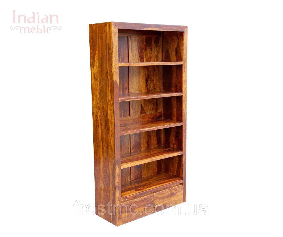 Indyjski drewniany regał - фото 3