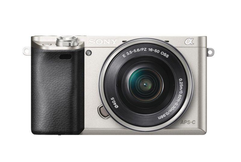 Фотоаппарат Sony a6000 kit 16-50mm Silver Гарантия производителя ( На складе )