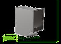 Колено переменного сечения для прямоугольного воздуховода AD-KUPP