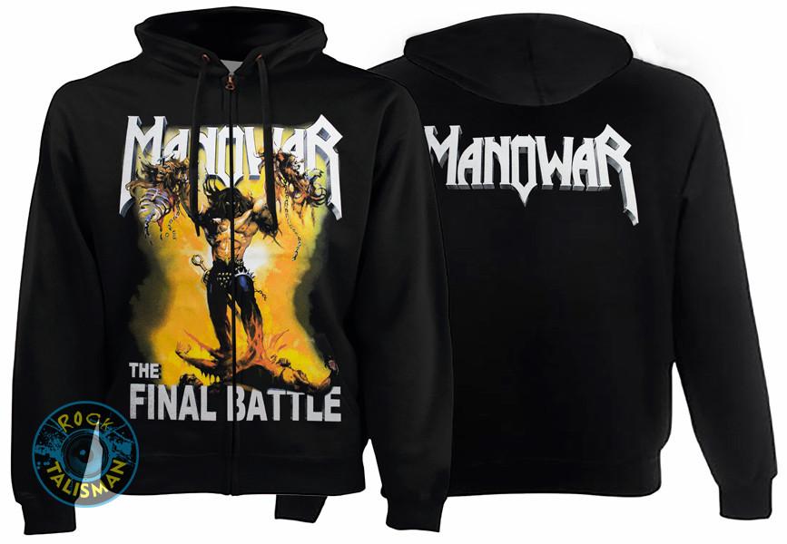 Толстовка на змейке MANOWAR The Final Battle
