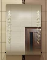 Зеркало zk-14 с контурным рисунком 70х50 см