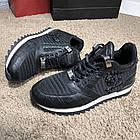 Кросівки чоловічі Philipp Plein Runner Sky Black/White, репліка, фото 4