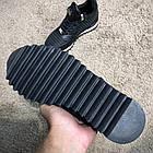 Кросівки чоловічі Philipp Plein Runner Sky Black/White, репліка, фото 5