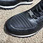 Кросівки чоловічі Philipp Plein Runner Sky Black/White, репліка, фото 6