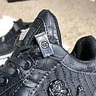 Кросівки чоловічі Philipp Plein Runner Sky Black/White, репліка, фото 8