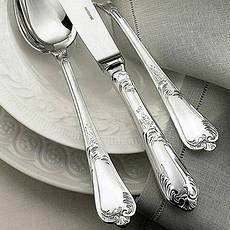 Столовое серебро, серебряная посуда