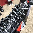 Кросівки чоловічі сникеры Prada Mechano Mid Sneakers Black, (репліка), фото 5