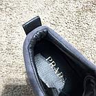 Кросівки чоловічі сникеры Prada Mechano Mid Sneakers Black, (репліка), фото 10