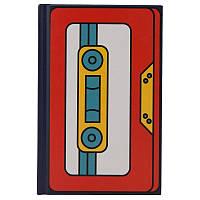 Книга записна KITE BeSound-4 K19-199-4 твердая обложка А6, 80 листов, клетка, фото 1