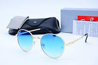 Солнцезащитные очки круглые Rb 663 син