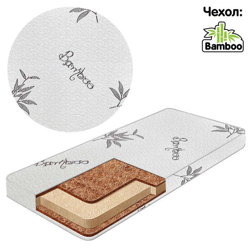 "Матрац ""BAMBOO"" Беби-Текс, (кокос, поролон, кокос, хлопок) (16221)"