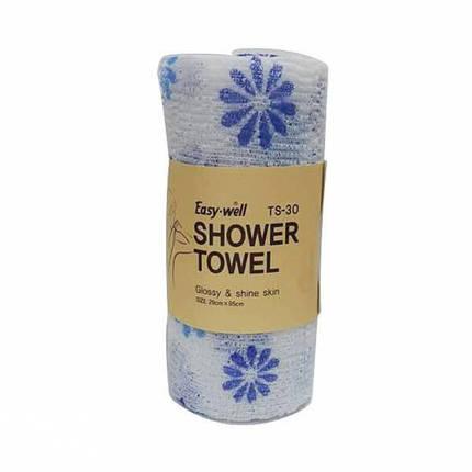 Мочалка для душа Tamina Easy-Well TS-30 Shower Towel, фото 2