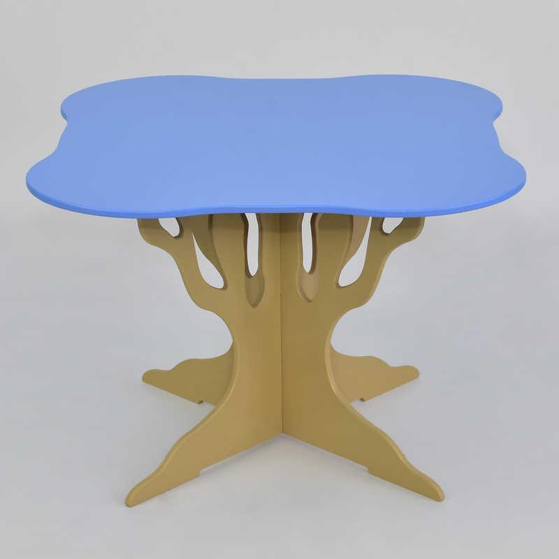 Стол деревянны МАСЯ, Голубой (5220)