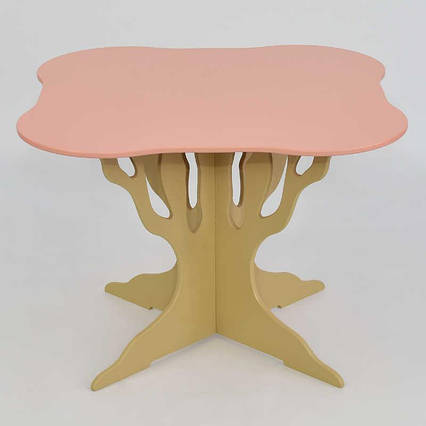 Стол деревянны МАСЯ, Розовый (5230)