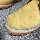 Черевики чоловічі шкіряні Тимбэрленд жовті Timberland 6-Inch Premium Waterproof Yellow Boot (репліка), фото 9