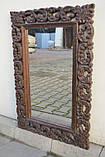 Індійське дерев'яне дзеркало, фото 3