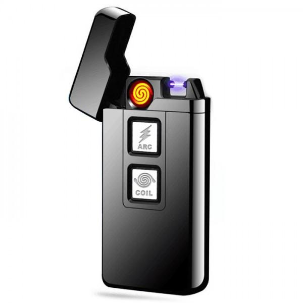 Электроимпульсная зажигалка в подарочной упаковке Arc Cigarette