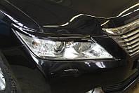 Накладки на фары Toyota Camry v50, Реснички Тойота Камри 50