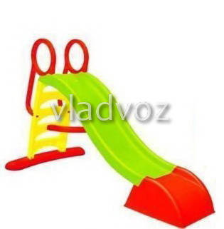 Детская горкаигровая пластиковая дитяча гірка для дома площадки улицы спуск дачи Mochtoys ск 180 см., фото 2