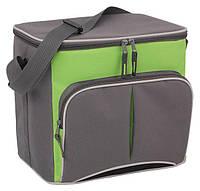 Сумка-холодильник Time Eco TE-1520, 20 л (Серый, салатовый)