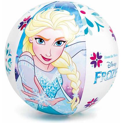 "Intex Мяч 58021 NP ""Фроузен"" (36) диаметром 51см, от 3 лет"