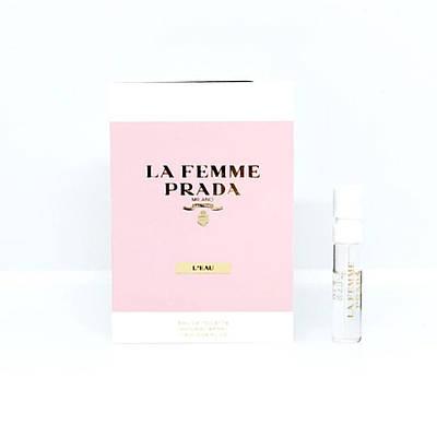 ПРОБНИК елітних жіночих парфумів 1,5 мл PRADA La Femme l'eau ОРИГІНАЛ, шлейфовый квітковий аромат осточный