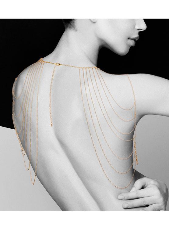 Эротические цепочки на плечи, Magnifique Shoulder Gold